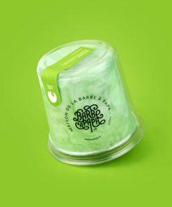 pot de barbe à papa pomme verte