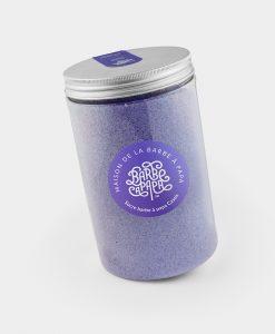 sucre barbe à papa violet