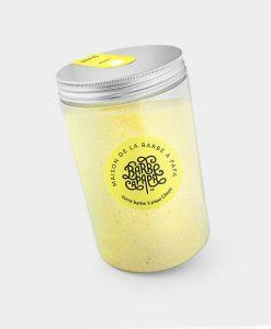 sucre barbe à papa citron jaune