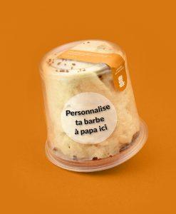 cadeau personnalise barbe à papa caramel beurre